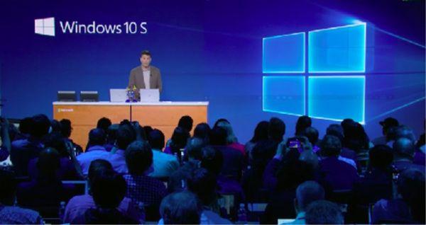 微软推出学生款Surface Laptop以及Windows 10S